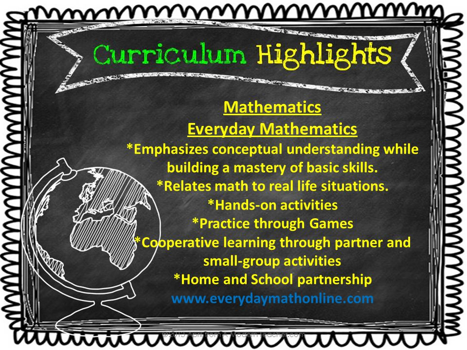 Everyday Mathematics Units of Study Units First Semester Unit 1 Unit 1a: Content Standard: Develop understanding of number & operations in base 10  Demonstrate competence generalizing place value understanding for multi-digit whole numbers (Standards 1, 2, 3) Unit 1b: Content Standard: Develop understanding in operations & algebraic thinking  Demonstrate competence using the four operations with whole numbers to solve problems (Standards 1 & 2)  Demonstrate competence gaining familiarity with factors & multiples (Standard 4) Unit 1c: Content Standard: Develop understanding of number & operations in base 10  Demonstrate competence using place value understanding & properties of operations to perform multi-digit arithmetic (Standards 4, 5, 6) Unit 1d: Content Standard: Develop understanding in operations & algebraic thinking  Demonstrate competence generating & analyzing patterns (Standard 5)  Demonstrate competence using the four operations with whole numbers to solve problems (Standard 3) Unit 2 Content Standard: Develop understanding in measurement & data  Demonstrate competence solving problems involving measurement & conversion of measurements from a larger unit to a smaller unit.