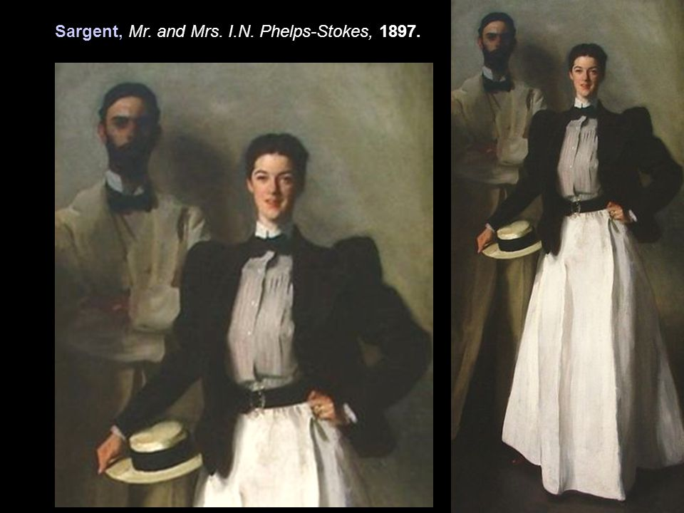 Sargent, Mr. and Mrs. I.N. Phelps-Stokes, 1897.