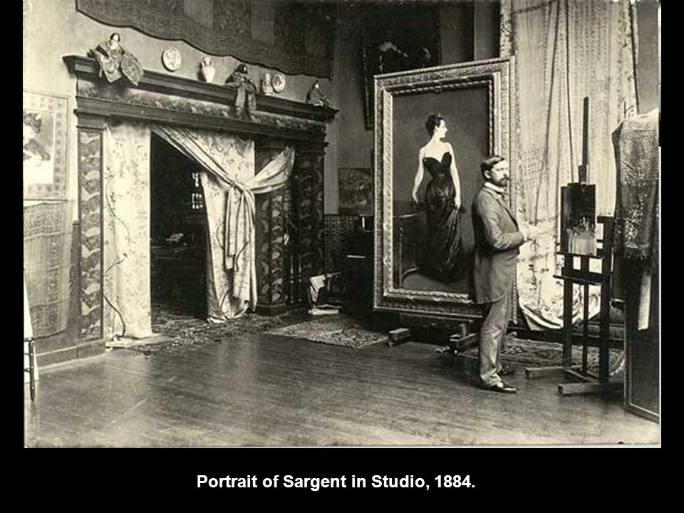 Portrait of Sargent in Studio, 1884.