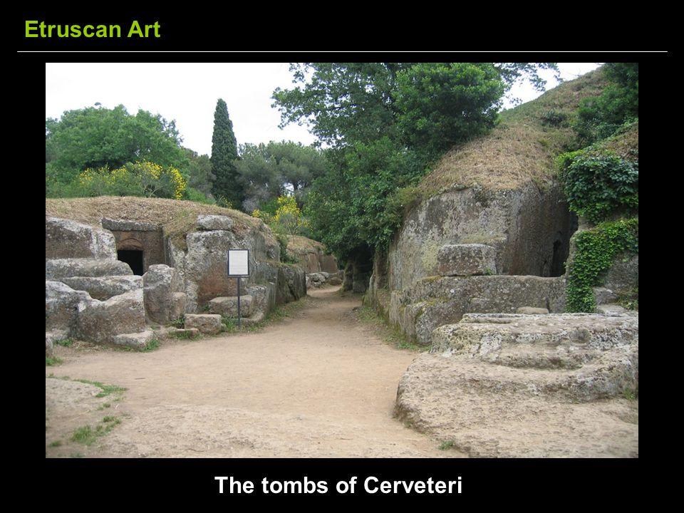 The tombs of Cerveteri Etruscan Art