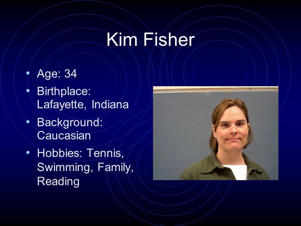 Andy S. Age: 15 Birthplace: Cincinnati, Ohio Background: German Hobbies: Fishing