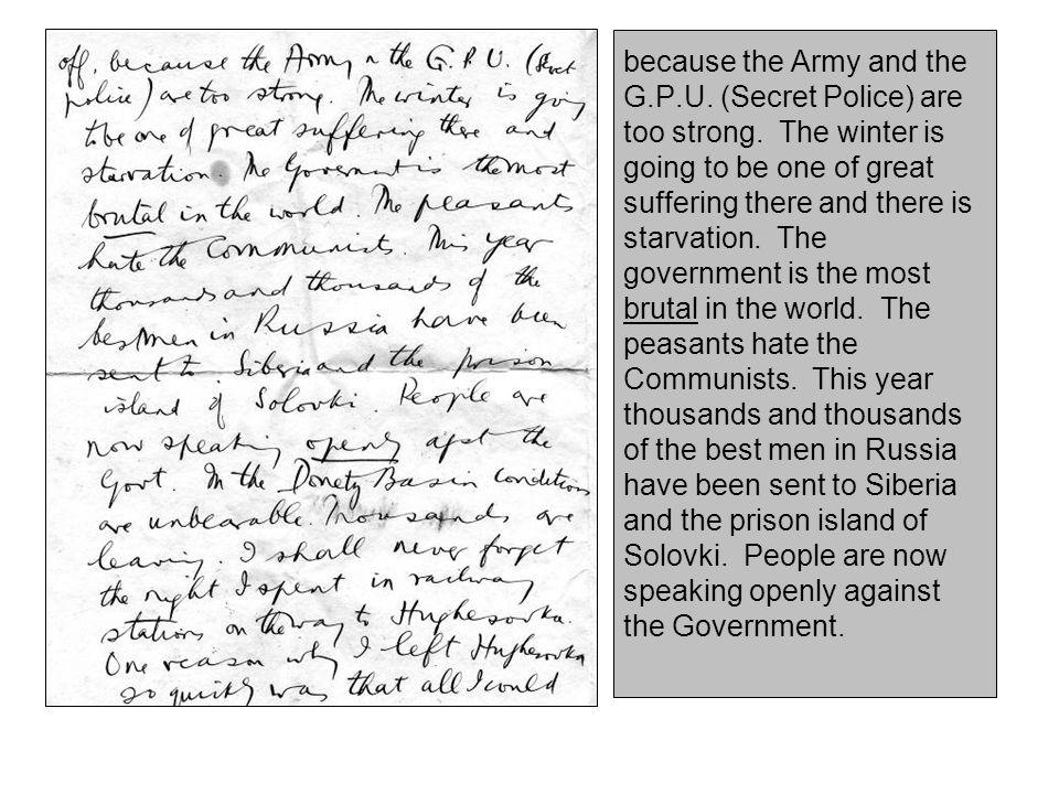 1935 – 13 th March – Louis Fischer & The Thomas Walker Affair –In Fischer's March Letter's Postscript: P.S.