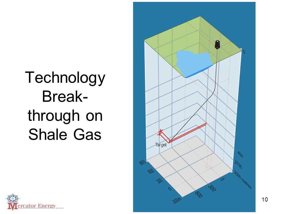 10 Technology Break- through on Shale Gas