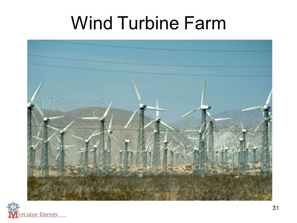 31 Wind Turbine Farm