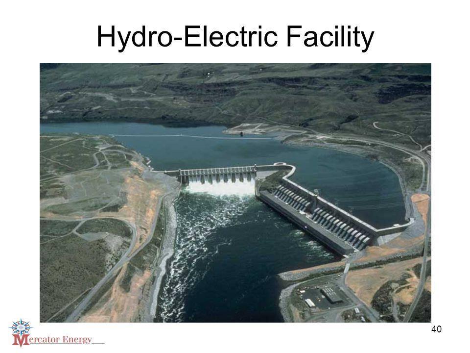 40 Hydro-Electric Facility