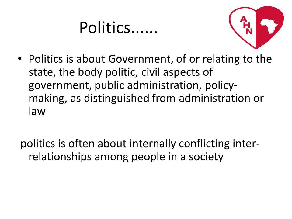 Politics......