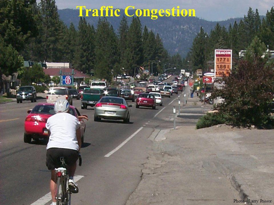 Traffic Congestion Photo – Larry Prosor