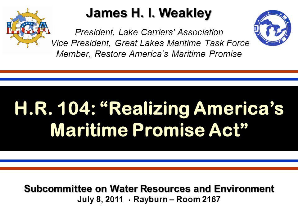 James H. I. Weakley James H. I.