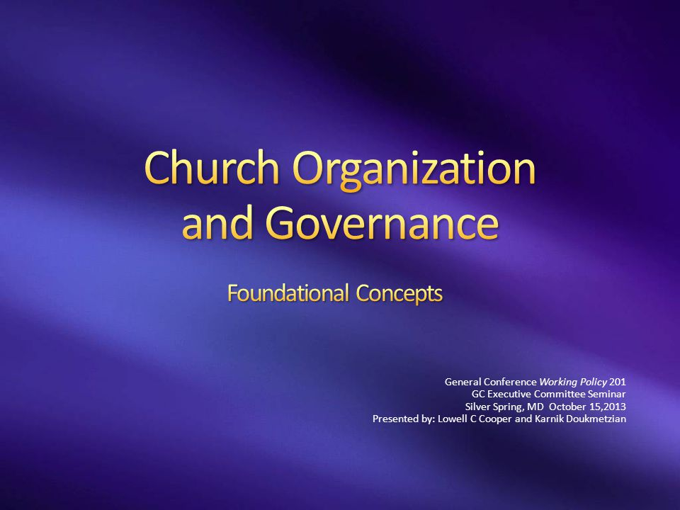 Define identity, relationships, membership and territory of operation Protects the voice of the membership within and organization