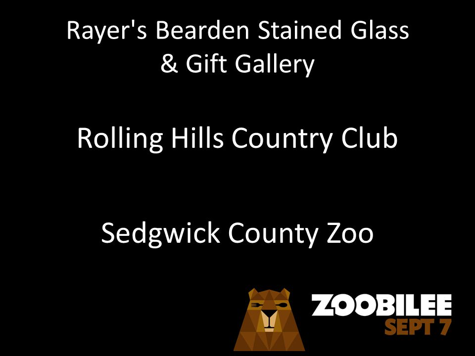 Rayer s Bearden Stained Glass & Gift Gallery Rolling Hills Country Club Sedgwick County Zoo