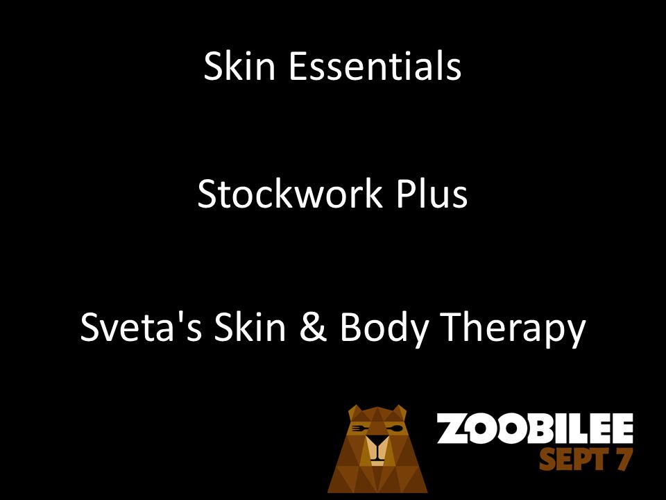 Skin Essentials Stockwork Plus Sveta s Skin & Body Therapy