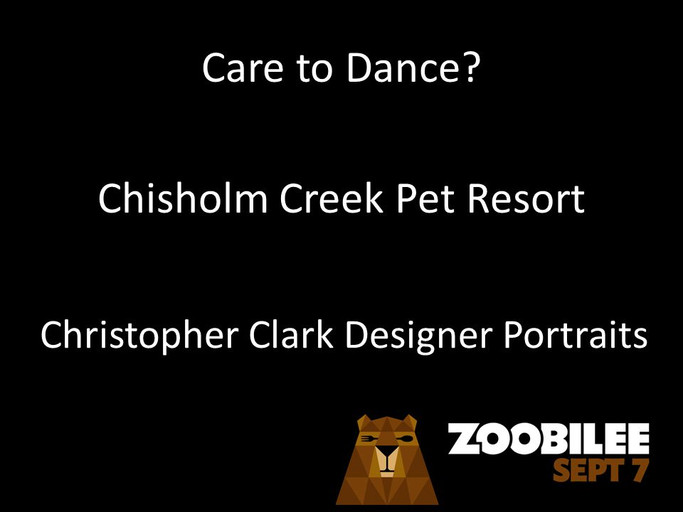 Care to Dance Chisholm Creek Pet Resort Christopher Clark Designer Portraits
