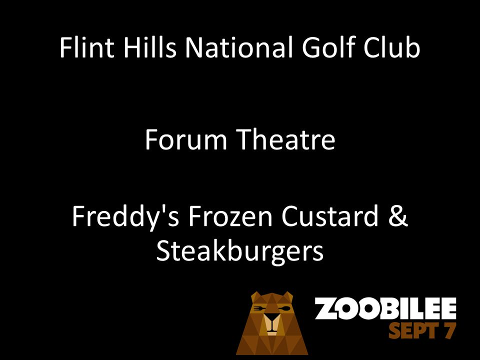 Flint Hills National Golf Club Forum Theatre Freddy s Frozen Custard & Steakburgers