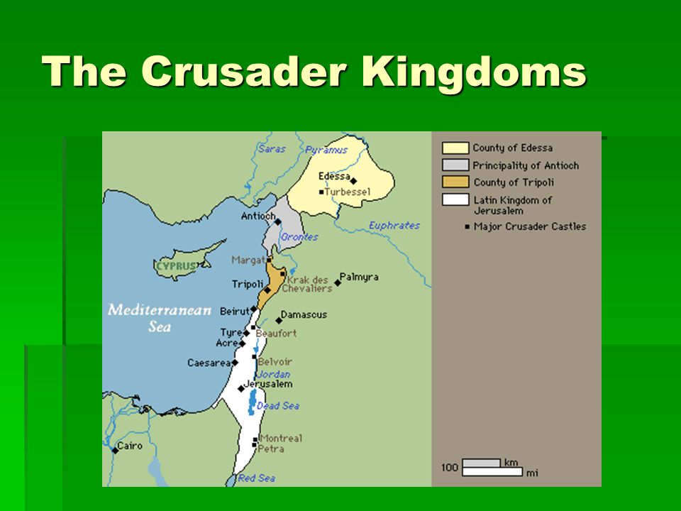 The Second Crusade 1146  Nuredin had reconquered 2 Christian Kingdoms in the Holy Land (Edessa and Antioch)  The Templars were formed in around 1118 to protect the new possessions and escort pilgrims  Poor planning and disagreements among the leaders led to failure of the crusade