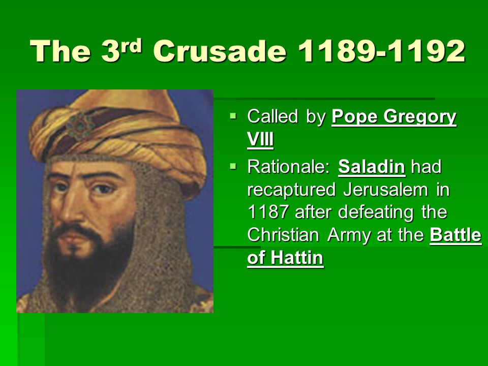 Results of the Crusades  More contact with the East (better culture)  More trade made Italian city states very wealthy (the Renaissance)  advances in military tactics, castle building  Many powerful lords left Western Europe, opened the door for Kings to consolidate power  Strong nation states  Expansion East stopped (forced to look West)  Age of exploration  Popes gained political influence (maybe too much?)  Perhaps perceived as too worldly.