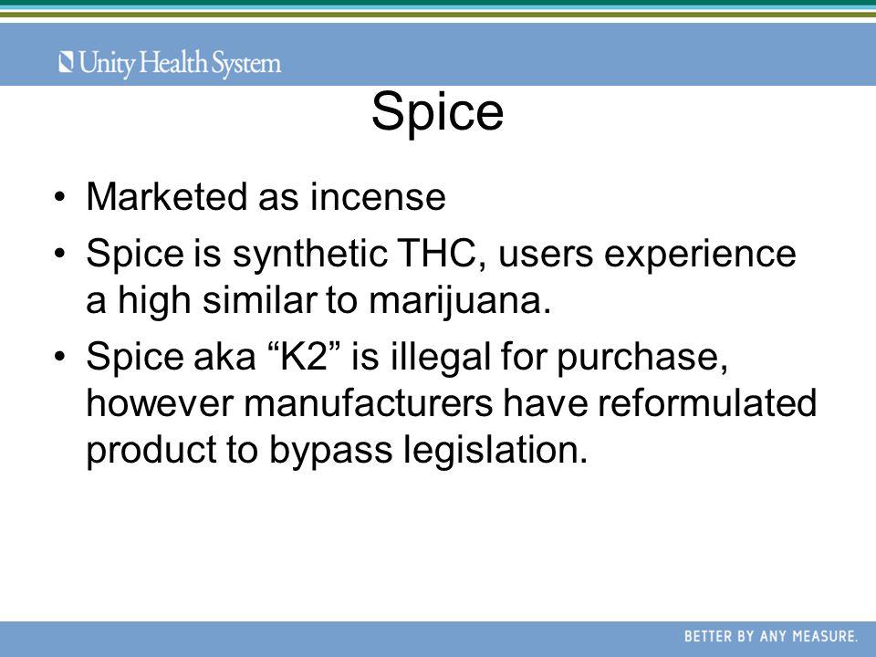Spice, Salvia and Hookahs