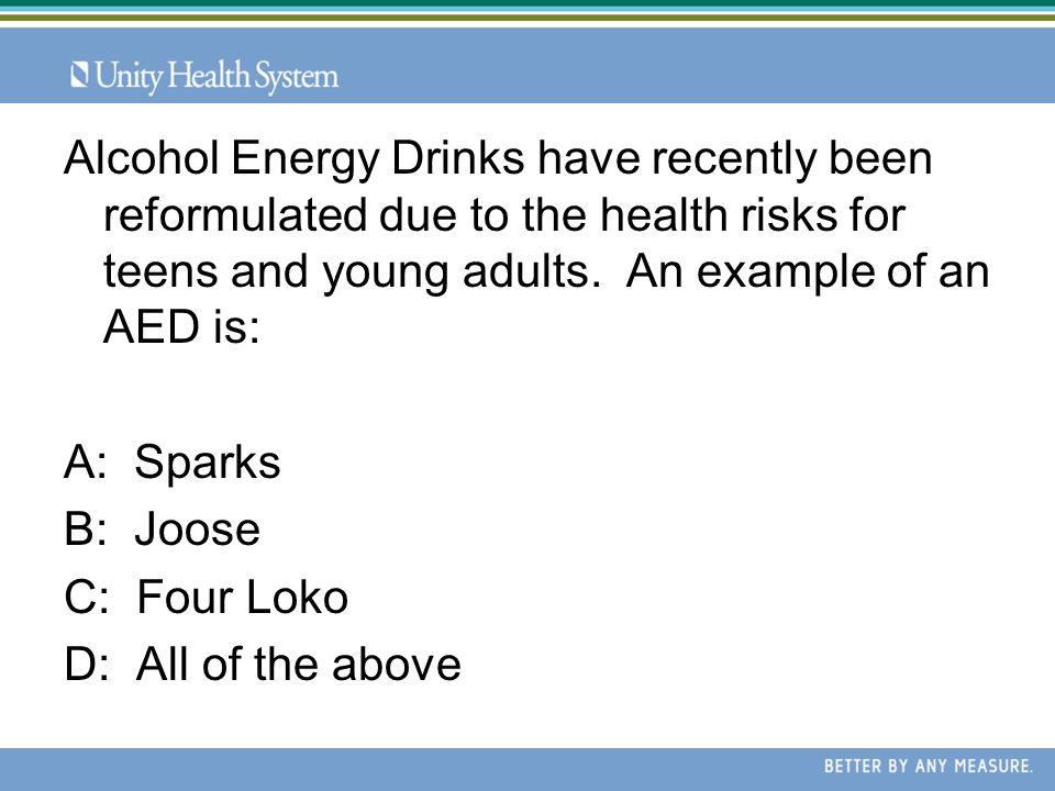 C: 5 drinks