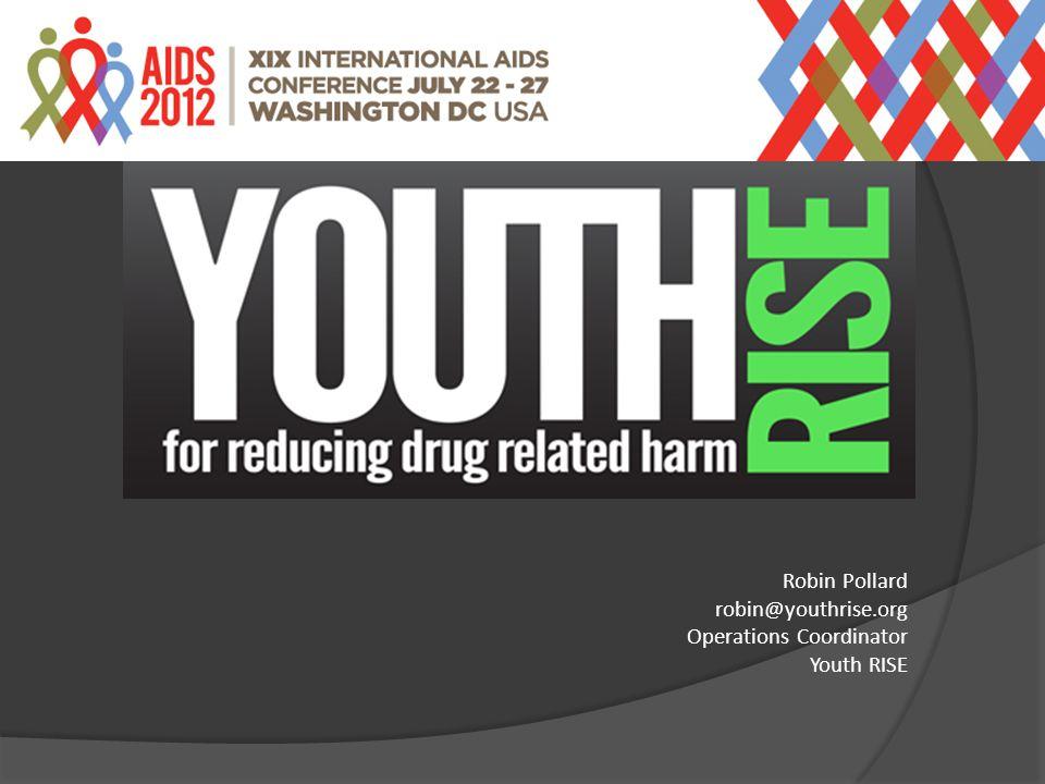 Robin Pollard robin@youthrise.org Operations Coordinator Youth RISE