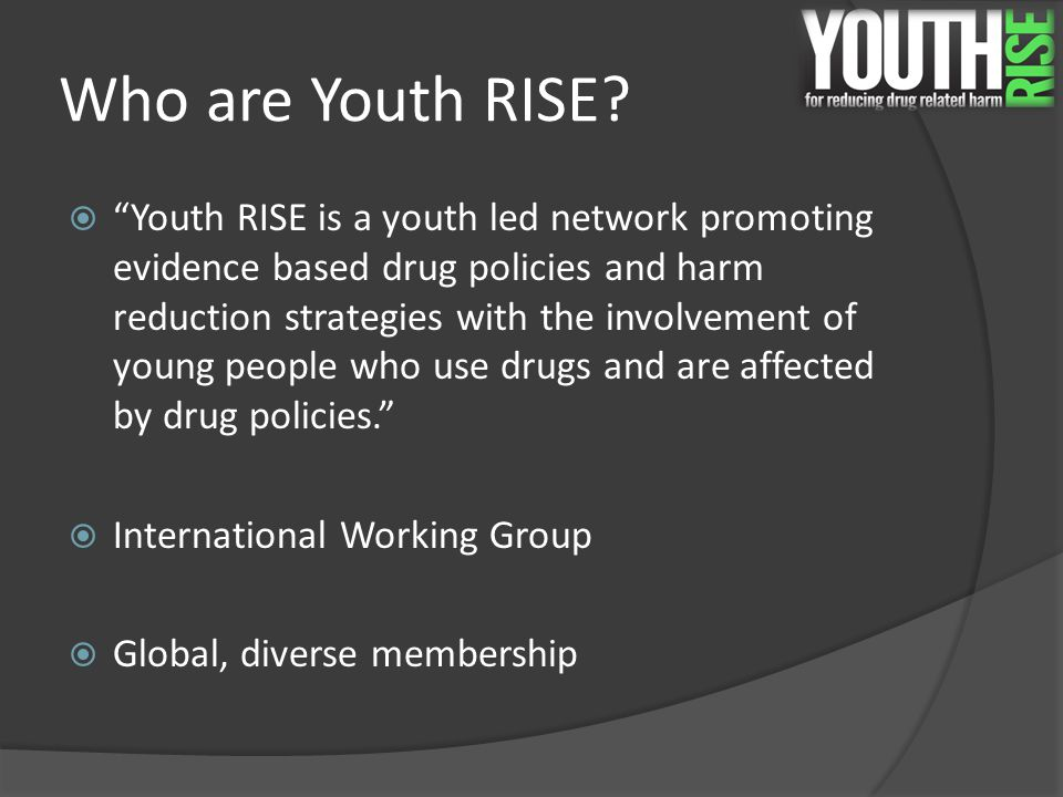 Who are Youth RISE.