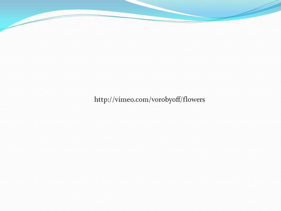 http://vimeo.com/vorobyoff/flowers