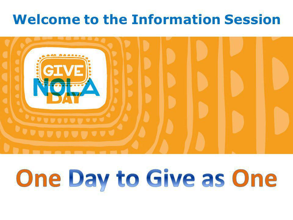 1.What is GiveNOLA Day and why should you participate.