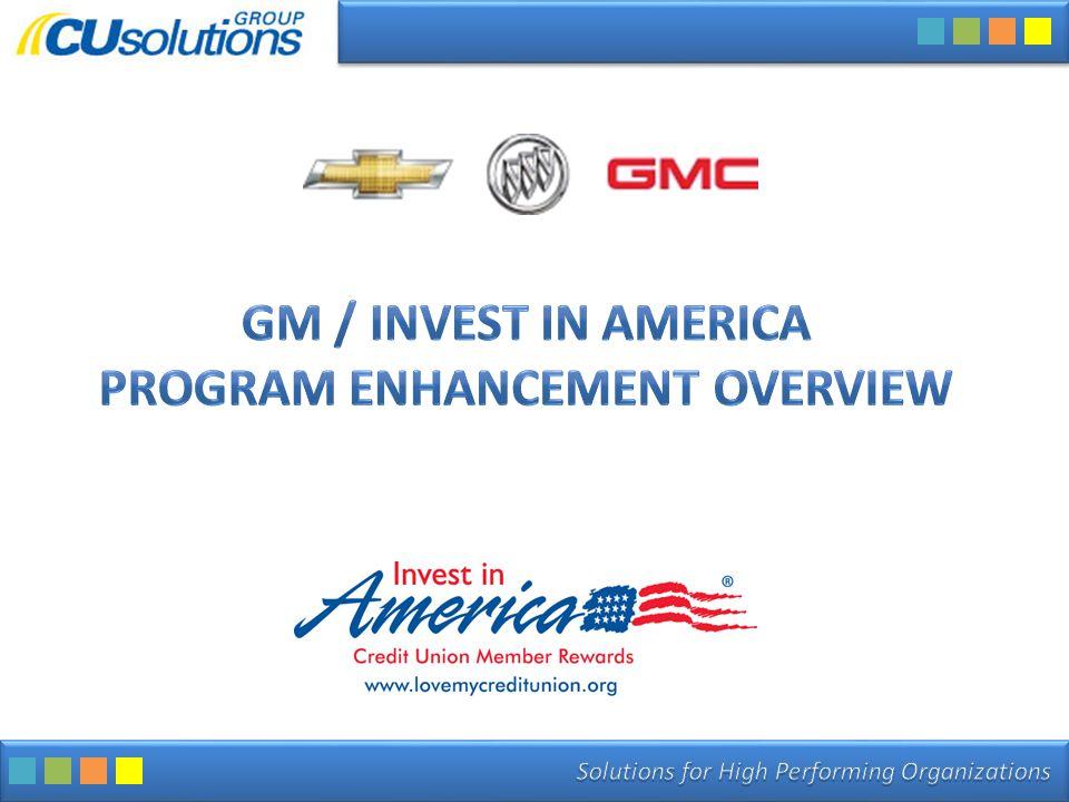 Enhanced Program Enhanced Program Will Drive Increased Loan Volume.