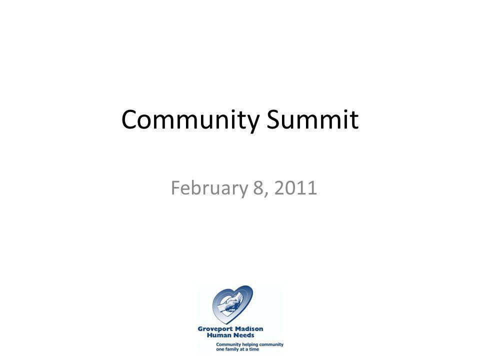 Community Summit February 8, 2011