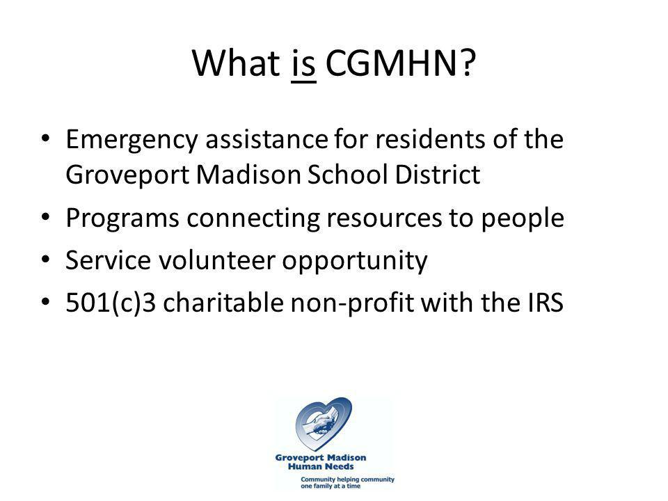 What is CGMHN.