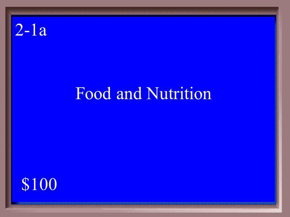 2-100 1 - 100 2-1 A project that teaches members how to eat more healthy and prepare meals for their families.