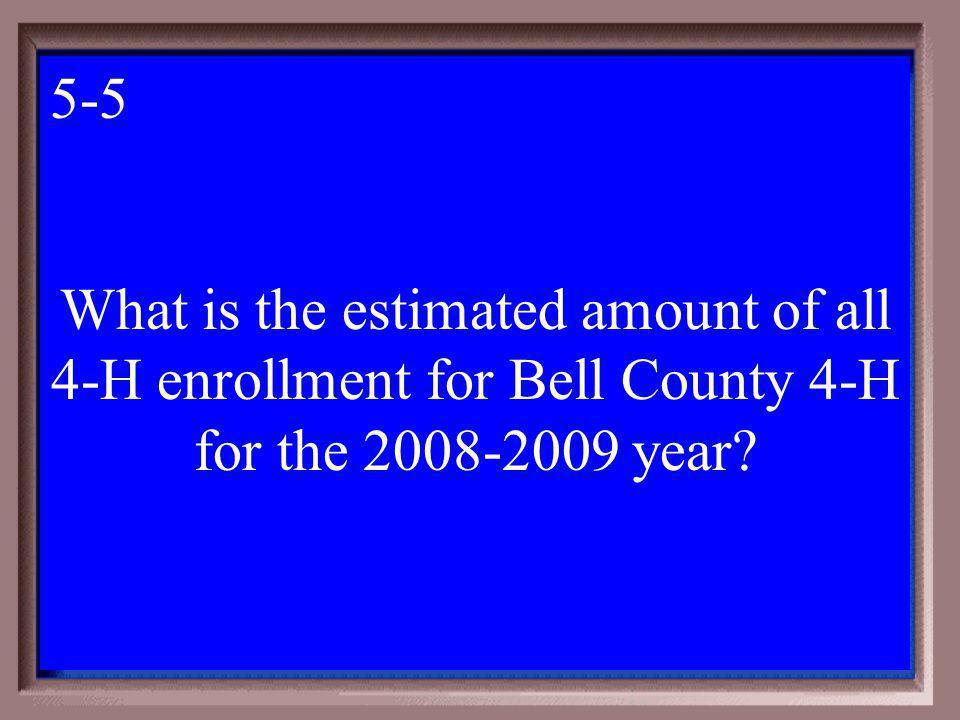 5-400A 1 - 100 5-4a Texas A&M University System $400
