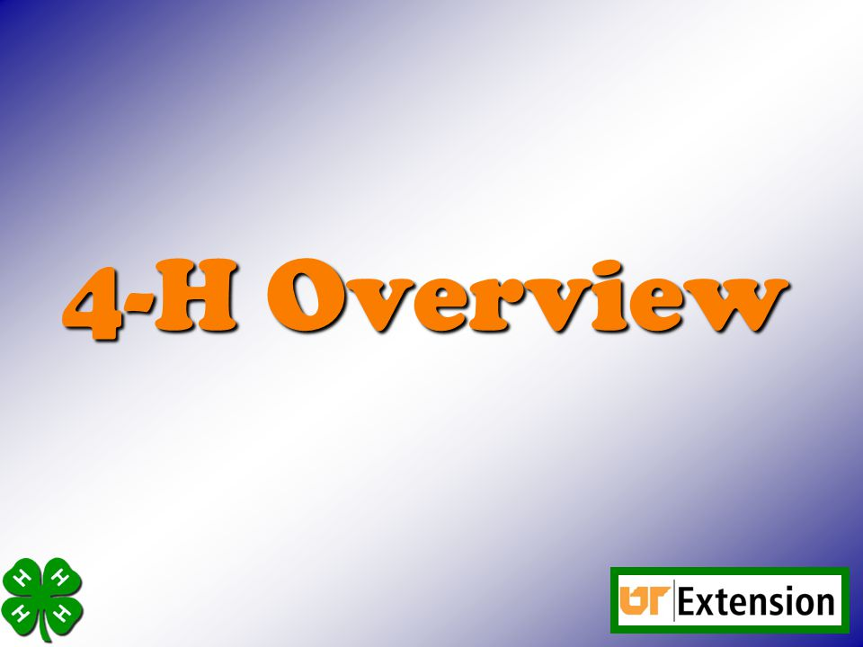 4-H Overview