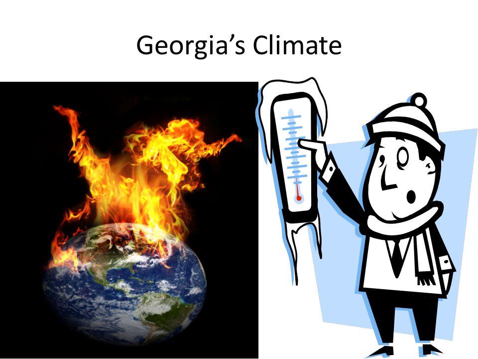 Georgia's regions have different climates.