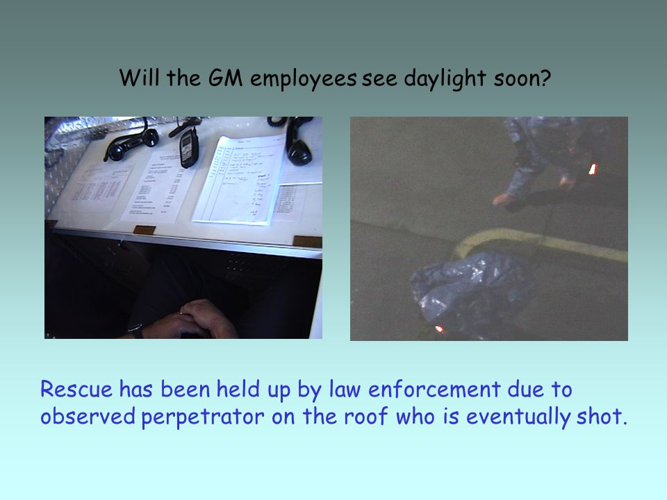 Will the GM employees see daylight soon.