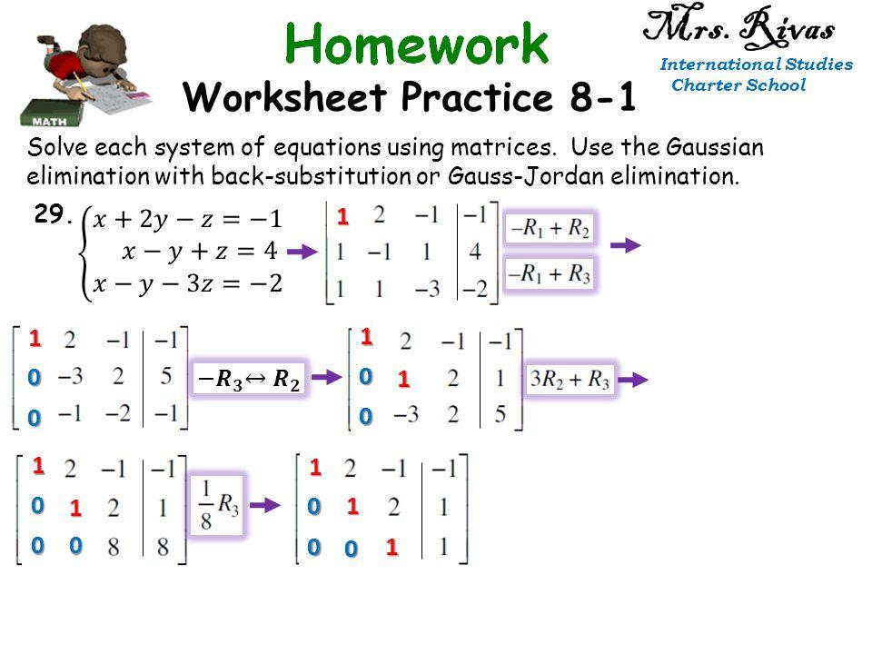 Worksheet Practice 8-1 Mrs. Rivas International Studies Charter ...