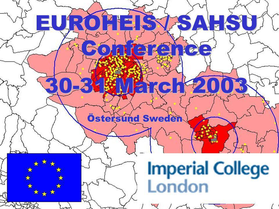 EUROHEIS / SAHSU Conference 30-31 March 2003 Östersund Sweden