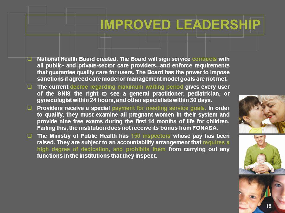 18  National Health Board created.