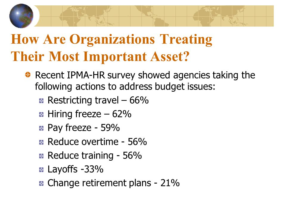 How Are Organizations Treating Their Most Important Asset.