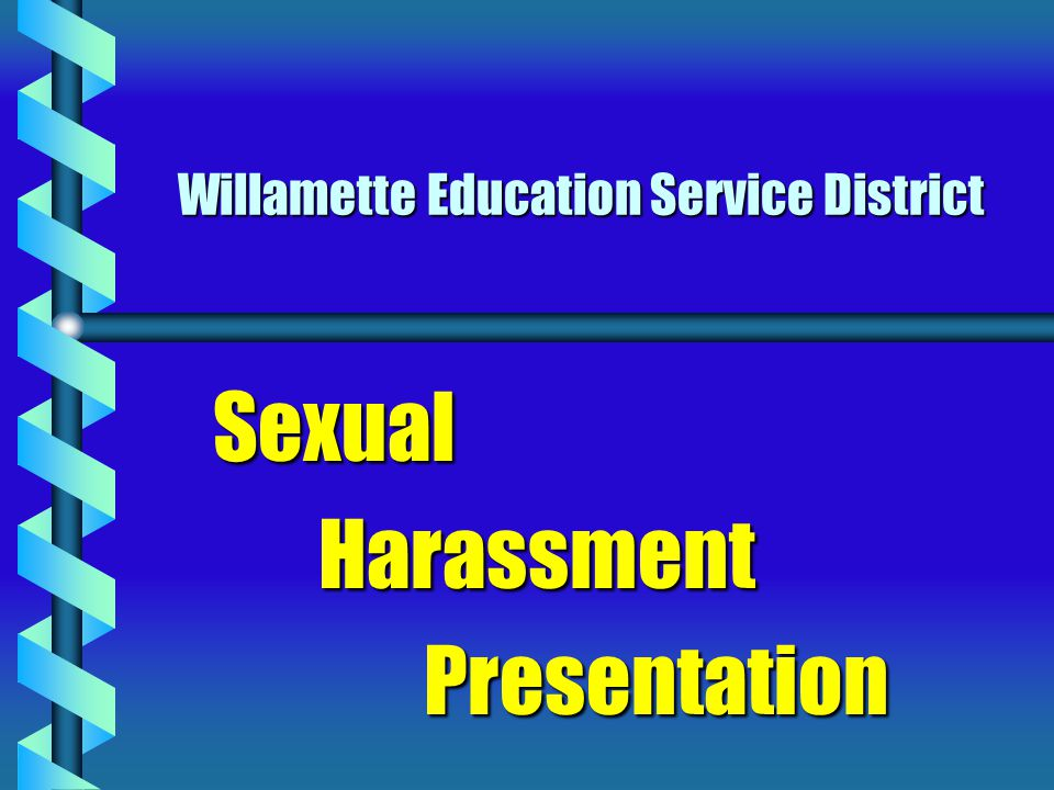 Sexual Harassment a serious problem Nationally the fastest growing area of employment discrimination  Nationally the fastest growing area of employment discrimination 1990: 6,127 complaints filed with EEOC  1990: 6,127 complaints filed with EEOC 1997: 15,889 complaints filed with EEOC  1997: 15,889 complaints filed with EEOC 1/2 to 2/3 of all working women, and some working men have experienced sexual harassment  1/2 to 2/3 of all working women, and some working men have experienced sexual harassment