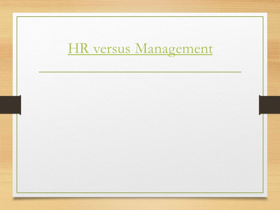 """Introduction to Human Resource Management Module 1 Jack Welch- Winning """"Elevate HR to a position of power and primacy in the organization, and make su"""