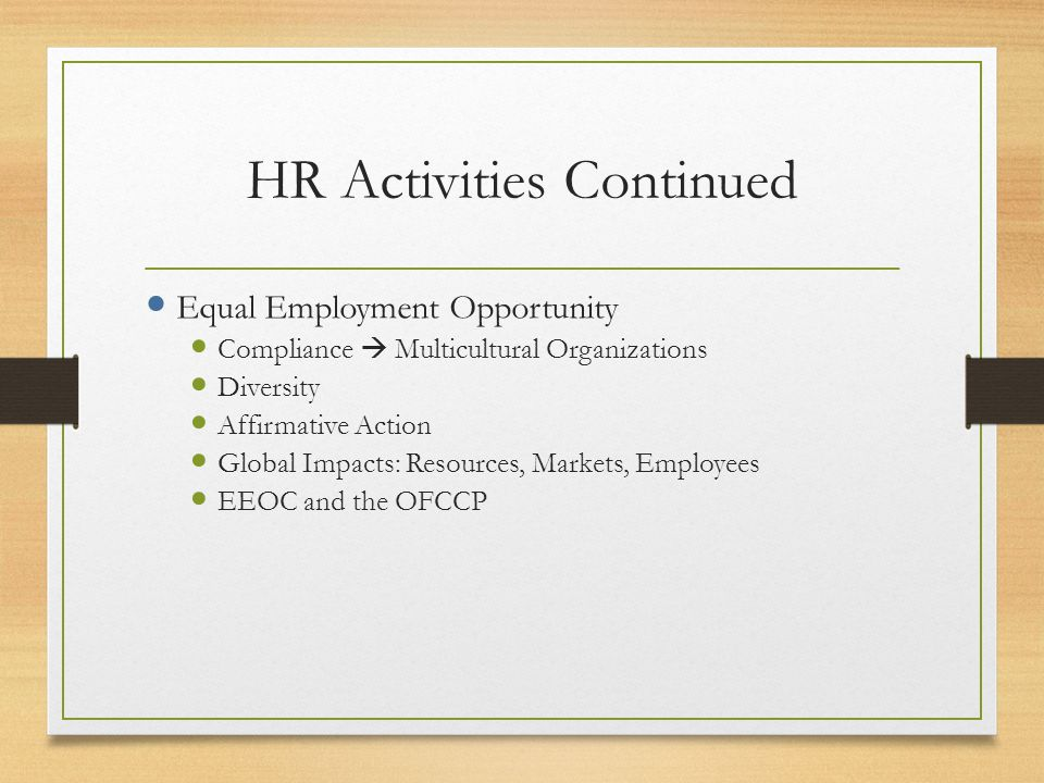 CWU's HR Programmatic Approach Business Core Courses (ACT, FIN, MGT, MKT, SCM, ECON) HR Specialization Courses HRM 381- Introduction HRM 442- Training