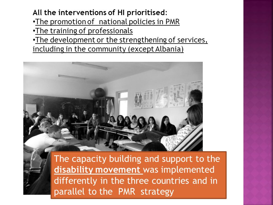 THE CASE OF KOSOVO Interventions were comprehensive, though uncoordinated; interactions between actors remained poor.