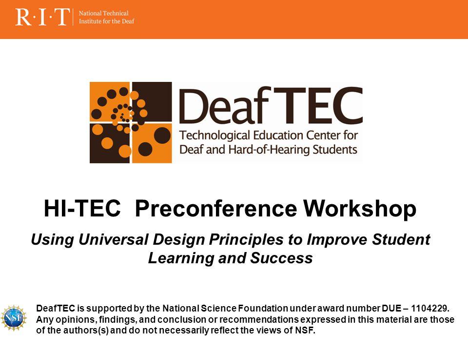 Presenters Panelists Participants Introduction