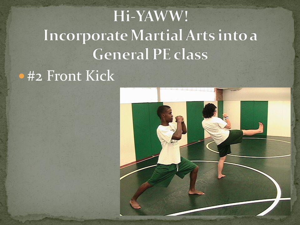 #2 Front Kick