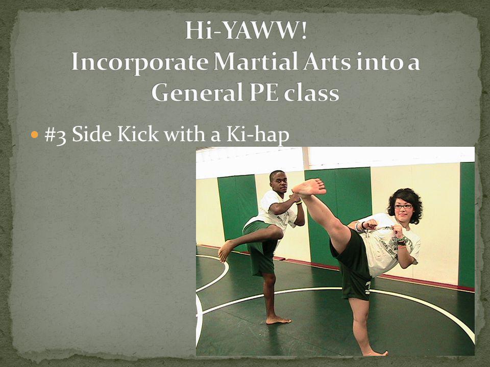 #3 Side Kick with a Ki-hap