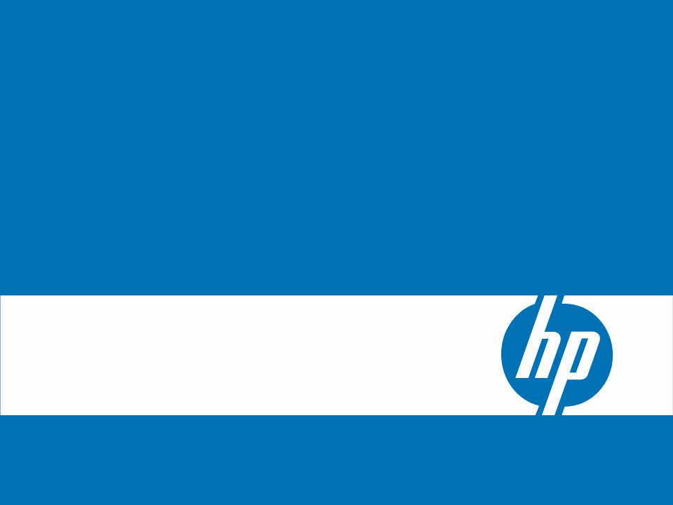© 2006 Hewlett-Packard Development Company, L.P.