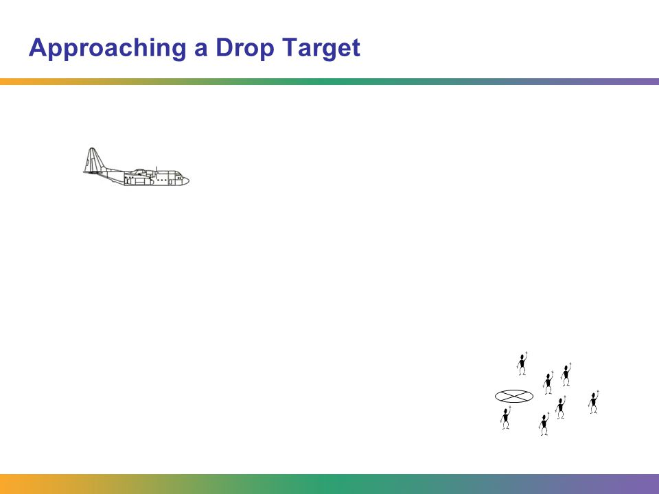 Approaching a Drop Target