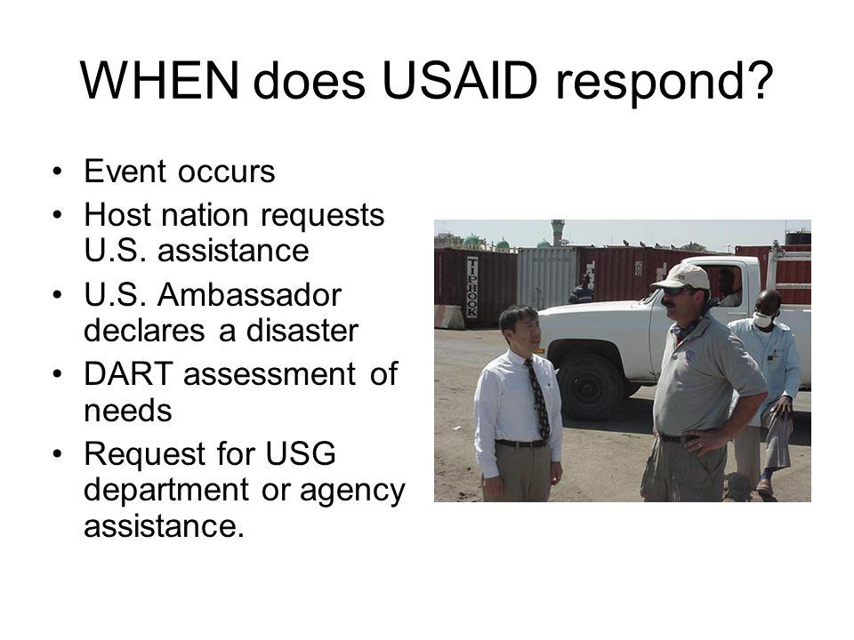 WHERE does OFDA coordination take place.Washington: RMT –DoD liaison officer U.S.