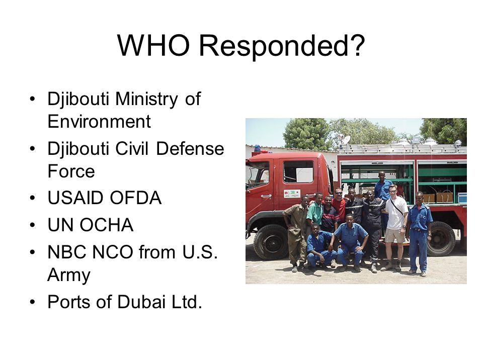 5 Likely Requests for DoD Support: Airlift Security (MPs) Medevac Port operations Augment airport ground logistics operations.