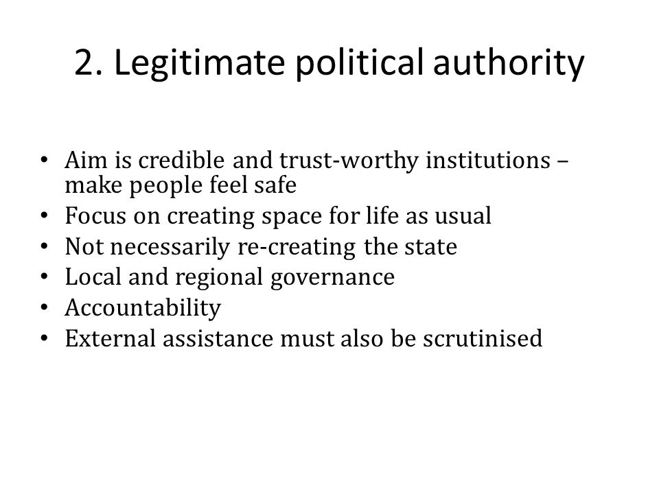 Some ideas for thematic research A regional security sector reform programme along HS lines.
