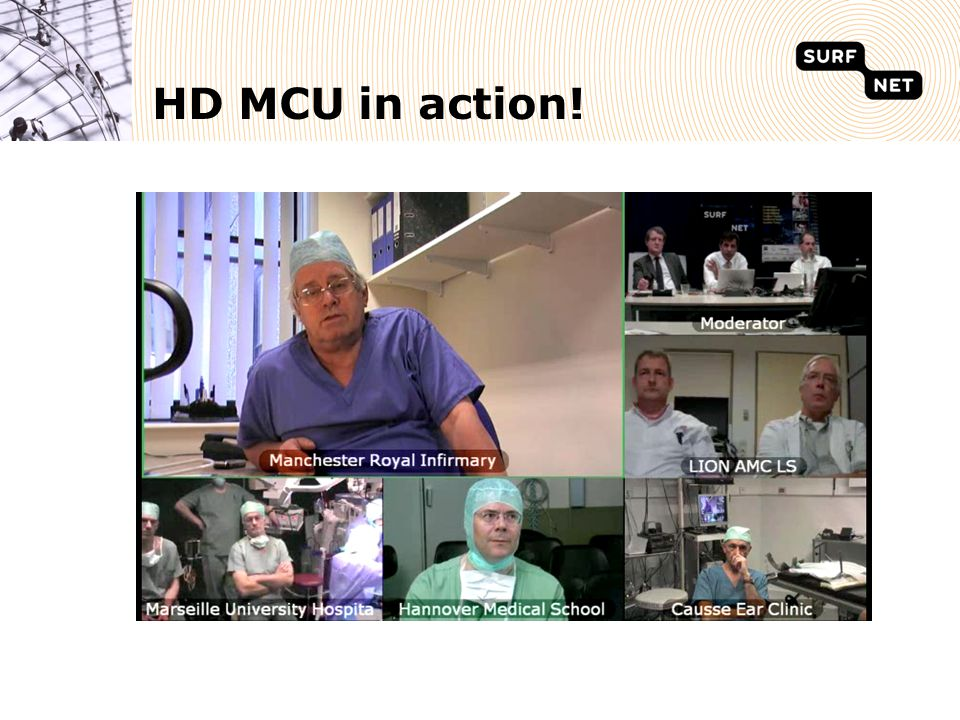 HD MCU in action!